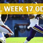 Chicago Bears vs Minnesota Vikings Predictions, Picks, Odds and Betting Preview - NFL Week 17 2017