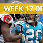 Carolina Panthers vs Atlanta Falcons Predictions, Picks, Odds and Betting Preview - NFL Week 17 2017