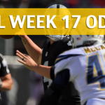 Oakland Raiders vs Los Angeles Chargers Predictions, Picks, Odds and Betting Preview – NFL Week 17 2017