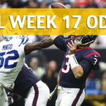Houston Texans vs Indianapolis Colts Predictions, Picks, Odds and Betting Preview – NFL Week 17 2017