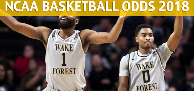 Clemson Tigers vs Wake Forest Demon Deacons Predictions, Picks, Odds and NCAA Basketball Betting Preview – February 3, 2018
