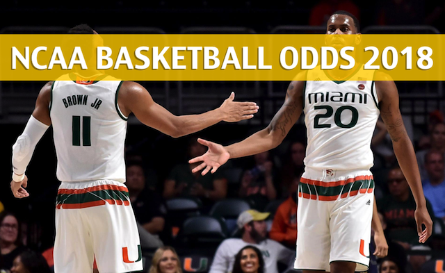 competitive price a7003 b4659 Duke vs Miami Odds, Predictions, Picks, Preview - Jan 15 2018