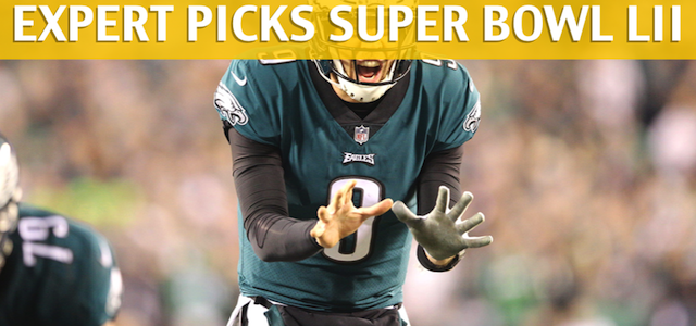 Super Bowl LII Expert Picks and Predictions 2018