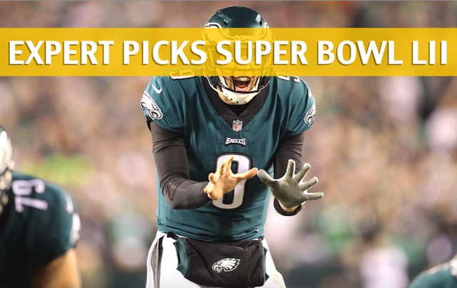 Super Bowl LII Expert Picks and Predictions 2018