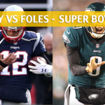 Tom Brady vs Nick Foles Predictions and Preview – Super Bowl LII