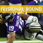 New Orleans Saints vs Minnesota Vikings Predictions, Picks, Odds and Betting Preview - NFC Divisional Playoff 2018