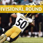 Jacksonville Jaguars vs Pittsburgh Steelers Predictions, Picks, Odds and Betting Preview - AFC Divisional Playoff 2018