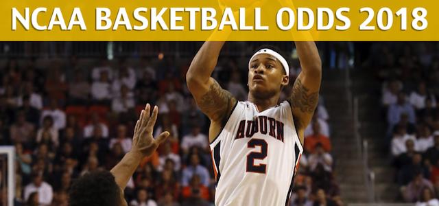 Auburn Tigers vs Florida Gators Predictions, Picks, Odds and NCAA Basketball Betting Preview – February 24, 2018