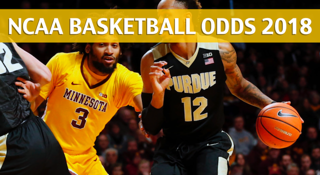 Minnesota Golden Gophers vs Purdue Boilermakers Predictions, Picks, Odds and NCAA Basketball Betting Preview – February 25, 2018
