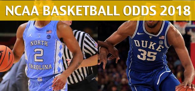 North Carolina Tar Heels vs Duke Blue Devils Predictions, Picks, Odds and NCAA Basketball Betting Preview – March 3, 2018