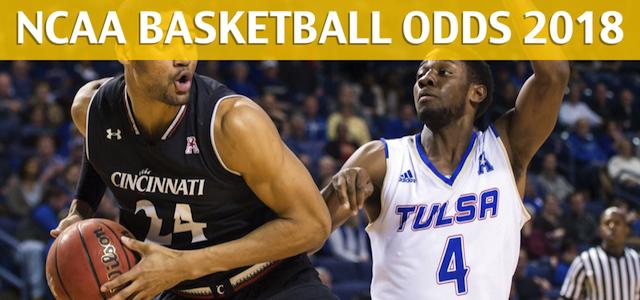 Tulsa Golden Hurricane vs Cincinnati Bearcats Predictions, Picks, Odds and NCAA Basketball Betting Preview – February 25, 2018