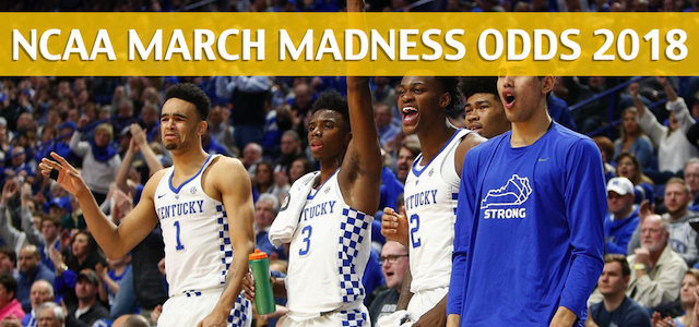 Davidson Wildcats vs Kentucky Wildcats Predictions, Picks, Odds, and NCAA Basketball Betting Preview – 2018 March Madness Round 1