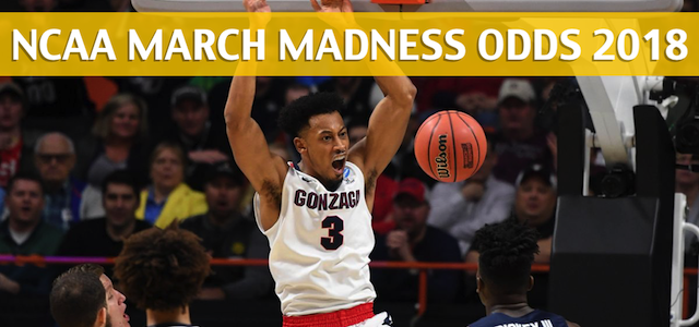 Florida State Seminoles vs Gonzaga Bulldogs Predictions, Picks, Odds, and NCAA Basketball Betting Preview – March 22, 2018