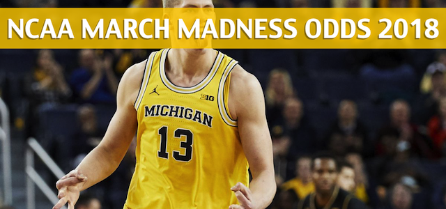 Montana Grizzlies vs Michigan Wolverines Predictions, Picks, Odds, and NCAA Basketball Betting Preview – 2018 March Madness Round 1