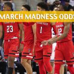 Stephen F Austin Lumberjacks vs Texas Tech Red Raiders Predictions, Picks, Odds, and NCAA Basketball Betting Preview - March 15, 2018