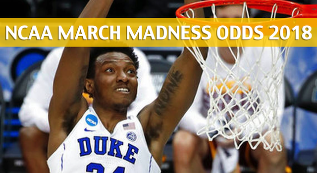 Syracuse Orange vs Duke Blue Devils Predictions, Picks, Odds, and NCAA Basketball Betting Preview – March 23, 2018