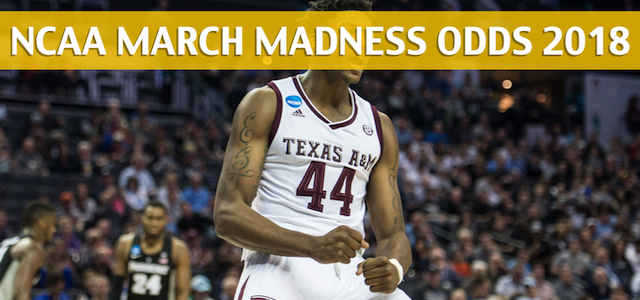 Texas A&M Aggies vs Michigan Wolverines Predictions, Picks, Odds, and NCAA Basketball Betting Preview – March 22, 2018