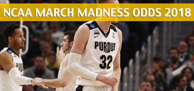 Texas Tech Red Raiders vs Purdue Boilermakers Predictions, Picks, Odds, and NCAA Basketball Betting Preview – March 23, 2018
