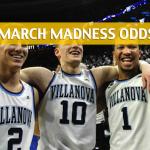 Texas Tech Red Raiders vs Villanova Wildcats Predictions, Picks, Odds, and NCAA Basketball Betting Preview - March 25, 2018