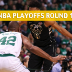 Boston Celtics vs Milwaukee Bucks Predictions, Picks, Odds, and Betting Preview – NBA Playoffs Round 1 Game 4 – April 22, 2018