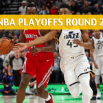 Utah Jazz vs Houston Rockets  Predictions, Picks, Odds, and Betting Preview – NBA Playoffs Round 2 Game 2 – May 2, 2018