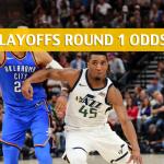 Utah Jazz vs Oklahoma City Thunder Predictions, Picks, Odds and Betting Preview – NBA Playoffs Round 1 Game 2 - April 18 2018