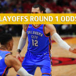 Utah Jazz vs Oklahoma City Thunder Predictions, Picks, Odds and Betting Preview – NBA Playoffs Round 1 Game 1 – April 15 2018