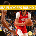 New Orleans Pelicans vs Golden State Warriors Predictions, Picks, Odds, and Betting Preview – NBA Playoffs Round 2 Game 2 – May 1, 2018
