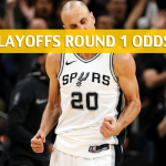 San Antonio Spurs vs. Golden State Warriors Predictions, Picks and Preview – 2018 NBA Playoffs – Round 1
