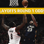 Portland Trail Blazers vs New Orleans Pelicans Predictions, Picks, Odds and Betting Preview  – NBA Playoffs Round 1 Game 4 – April 21 2018