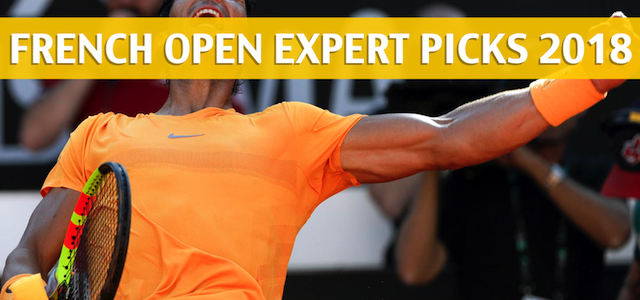 2018 French Open Expert Picks and Predictions - Men's Singles