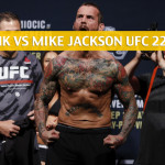 CM Punk vs Mike Jackson Predictions, Pick, Odds, and Betting Preview - UFC 225 June 9 2018