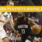 Houston Rockets vs Utah Jazz Predictions, Picks, Odds, and Betting Preview – NBA Playoffs Round 2 Game 4 – May 6, 2018