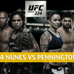 UFC 224 Predictions, Odds, and Betting Preview - Nunes vs Pennington