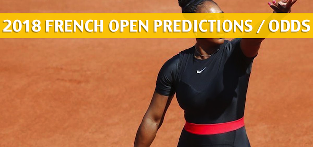 Serena Williams vs Ashleigh Barty Predictions, Pick, Odds, and Betting Preview – 2018 French Open Round of 64 – May 31, 2018