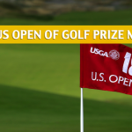 2018 U.S. Open Golf Purse and Prize Money Breakdown