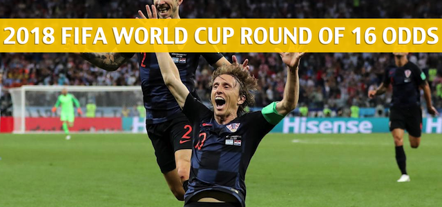 Croatia vs Denmark Predictions, Picks, Odds, and Betting Preview – 2018 FIFA World Cup Round of 16 – July 1