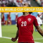 Denmark vs Australia Predictions, Picks, Odds, and Betting Preview – 2018 FIFA World Cup Group C – June 21