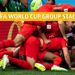 England vs Belgium Predictions, Picks, Odds, and Betting Preview – 2018 FIFA World Cup Group G – June 28