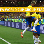 Serbia vs Brazil Predictions, Picks, Odds, and Betting Preview – 2018 FIFA World Cup Group E – June 27