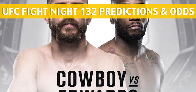 UFC Fight Night: Donald Cerrone vs Leon Edwards Predictions, Picks, Odds, and Betting Preview – June 23, 2018