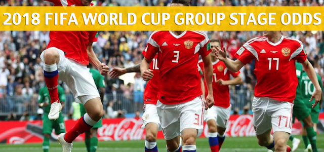 Uruguay vs Russia Predictions, Picks, Odds, and Betting Preview – 2018 FIFA World Cup Group A – June 25