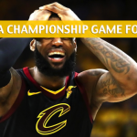 Golden State Warriors vs Cleveland Cavaliers Predictions, Picks, Odds and Preview – 2018 NBA Finals Game - June 8 2018