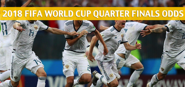 2018 FIFA World Cup Quarter Finals Predictions and Odds