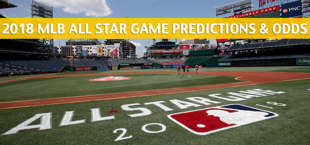 2018 MLB All Star Game Predictions, Picks, Odds and Betting Preview