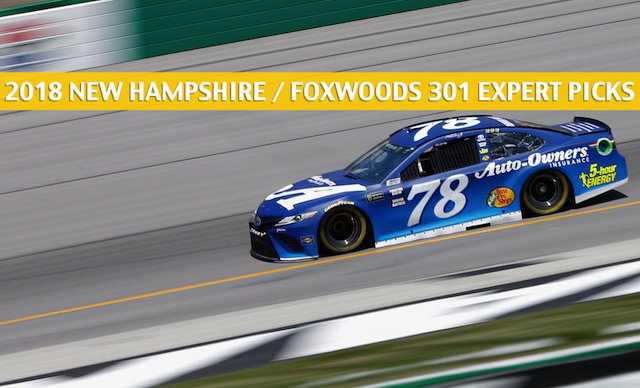 Betting Preview for the New Hampshire / Foxwoods 301 NASCAR Race Running on July 22, 2018