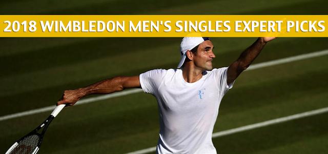 2018 Wimbledon Men's Singles Expert Picks and Predictions