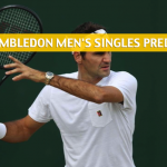 2018 Wimbledon Men's Singles Predictions, Picks, Odds and Tennis Betting Preview