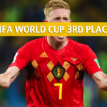 Belgium vs England Predictions, Picks, Odds, and Betting Preview - 2018 FIFA World Cup Third Place Playoff - July 14