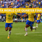 Brazil vs Belgium Predictions, Picks, Odds, and Betting Preview – 2018 FIFA World Cup Quarter Finals – July 6